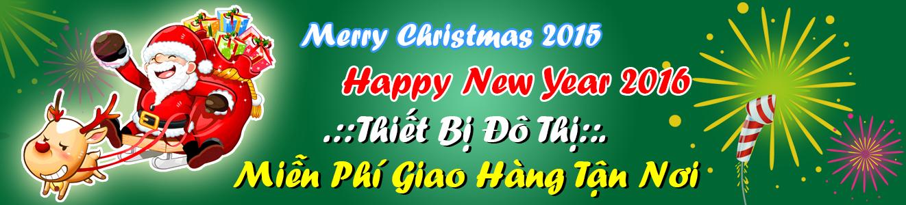 Giáng sinh 2015 và chào đón năm mới 2016