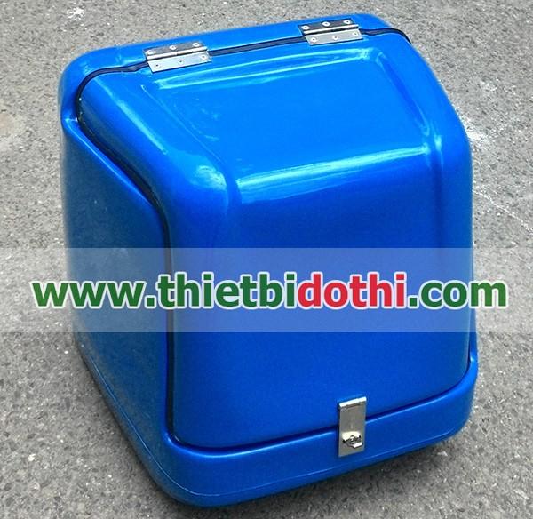 thùng chở hàng sau xe máy loại nhỏ