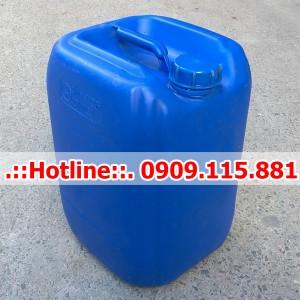 Can Nhựa Cũ 25 Lít
