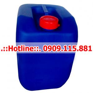 Can Nhựa 30 Lít Vuông Màu Xanh Dương – Trắng NT02
